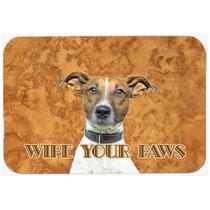Jack Russell Terrier Limpio Sus Patas De Cocina O Baño Mat