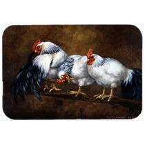 Dormideros Gallo Y Pollos De Cocina O Baño Mat 24x36 Bdba00
