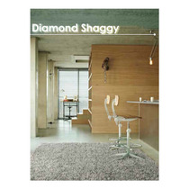 Tapetes Terza Diamond Shaggy 0.60 X 1.15m