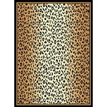 Tapete Minimalista African Adventure Leopard Skin Shaded