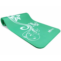 Yoga Mat De Yes4all ** Mystic Lilly Green ** 12 Mm