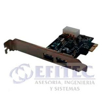 Efi-pci302 Tarjeta Pci Express Usb V.3.0 2 Puertos Efitec