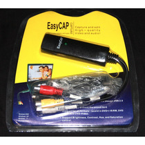 Easycap Tarjeta Capturadora Rca S-video Audio Video Xbox Dvd