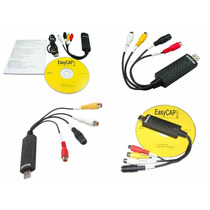 Tarjeta Capturadora De Video Easycap Usb 2.0 Rca S-video!