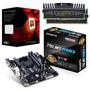 Kit Ga-78lmt-usb3 + Fx-8350 4ghz X8 + 16gb 1600 + Fuente 600