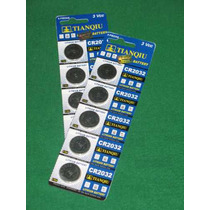 50 Pila Bateria Cr2032 De Lithio 3 V
