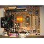 Motherboard Gfxcel + Procesaror + Ventilador + Memoria
