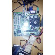 Tarjeta Madre 478 Con Procesador Pentium 4