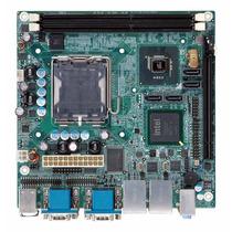 Motherboard Industrial Iei Kino-g410-r20 Ddr3, 6 Puertos Com