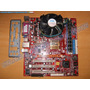 Kit Motherboard Pcchips P21g V3.1 Procesador 2.8ghz 1gb Ram