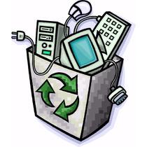 Equipo De Cómputo Obsoleto Y Dañado Reciclaje Tarjetas Madre