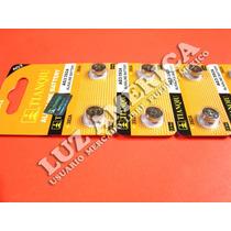 10 - Pila Bateria Alcalina Ag3 Lr41 392 Sr41 Tianqiu