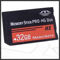 Nueva! Memoria Memory Stick Pro Duo Hx 32gb Magicgate Psp