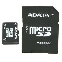 Memoria Adata Micro Sdhc 16gb Con Adaptador Sd Clase 4