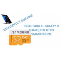 Micro Sd Evo Samsung Original Para Galaxy 7 Sony Moto Etc,