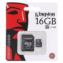 Memoria Micro Sd Kingston 16gb Hc/adaptador A Sd