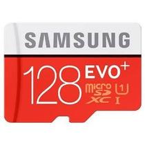 Samsung 128gb Evo Plus Clase 10 Micro Sdxc Con 80 Mb Adaptad