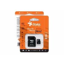 Memoria Micro Sd 16gb Clase 10 Celulares Camaras Tablet