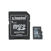 Memoria Micro Sd Smartphone Celular Android Kingston 4gb