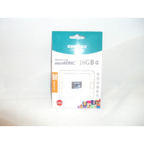 Memoria Micro Sd Hc 16 Gb Kingmax Para Celular Y Camaras