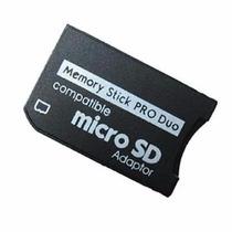 Adaptador Micro Sd A Produo Para Psp Y Camaras