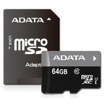 Memoria Micro Sd Xc Adata 64gb Uhs-i Clase 10 Ultra Rápida!