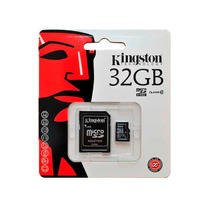 Tarjeta De Memoria Flash Kingston 32gb Micro Sdhc Class 4