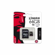 Memoria Micro Sdxc Class 10 Uhs-i 64gb, Adaptador A Sd