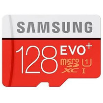 Samsung Evo Plus Uhs-i 128gb Mc128d Clase 10 Tarjeta Micro S
