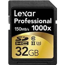 Tarjeta De 32gb Sdhc Uhs-ii / U3 Lexar Professional 1000x (h
