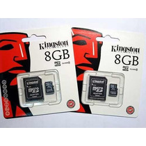 Memoria Micro Sd 8gb Kingston Para Celulares, Camaras, Etc..
