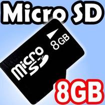 Memoria Micro Sd 8 Gb Sdhc Garantia De Por Vida