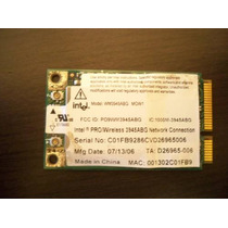 Tarjeta Wifi Intel Wireless Wm3945abg 54mbps 802.11 A/b/g