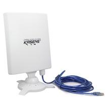 Antena Wifi Kasens N9600 Usb 6600mw Para Exterior 80dbi Vv4