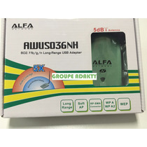 Antena Alfa Awus036nh 5dbi 1 Watt Incluye Cd Beini