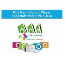 Mp3 Reproductor Player Soporta Memoria 2gb 4gb 8gb