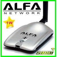 Antena Auditoria Con Beini Wifi Alfa Awus036h Chupon 1000mw