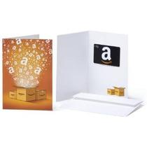 Amazon.com Gift Card En Una Tarjeta De Felicitación (varios