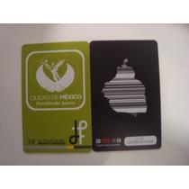 Tarjeta Del Metrobús De México D.f. - Para Coleccion