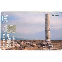 Tarj Grecia Restos Arqueologicos En La Isla De Samos