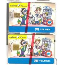 Dos Tarjetas Pandilla Telmex