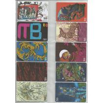 Tarjetas Del Metrobus - 10 Años - Coleccion Completa