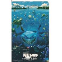 Buscando A Nemo Tarjeta Telefonica Banda Magnetica Mdn