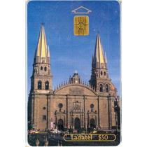 Tarj Viva Mexico Arquitectura Catedral Guadalajara Jalisco