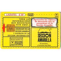 Tarj Seccion Amarilla