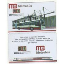 Tarjeta Del Metrobús De México D.f.