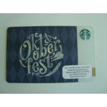Tarjeta Starbucks De Alemania Oktoberfest Para Colección