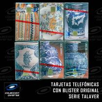 Serie Talavera Blister Tarjetas Telefónicas