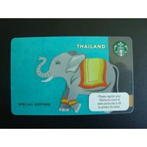 Tarjeta Starbucks De Tailandia Elefante Para Colección