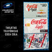 Om Lote Tarjetas Telefónica Coca Cola